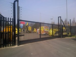 electric gates preston