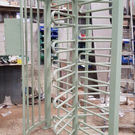 Full Height Turnstile Grey